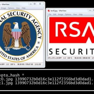 Пробив в нестандартни реализации на SHA-1